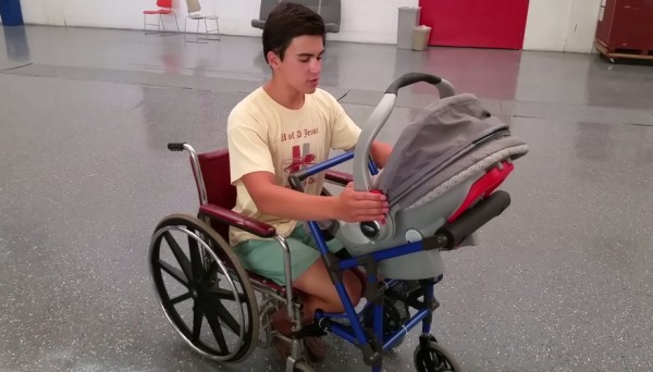 wheelchair stroller 1