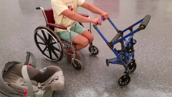 wheelchair stroller 3