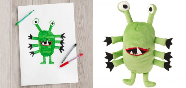 IKEA plush toy design 1