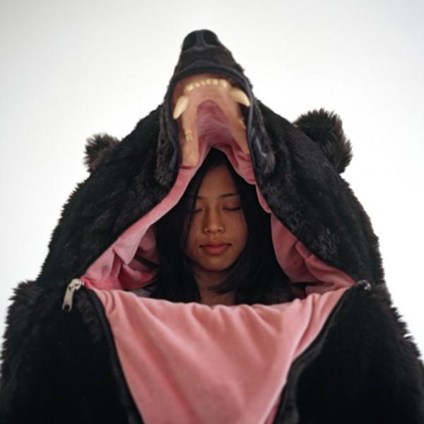 bear sleeping bag 1