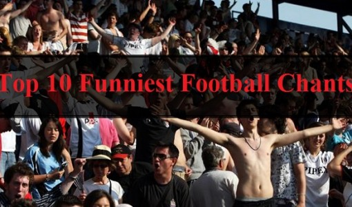 funny football chants