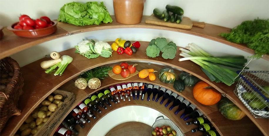 ground fridge 1 & Dutch Designer Creates Underground Fridge Inspired Root Cellar That ...