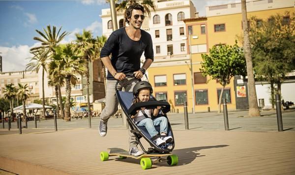 longboard stroller 3