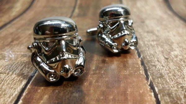 star war cuff links