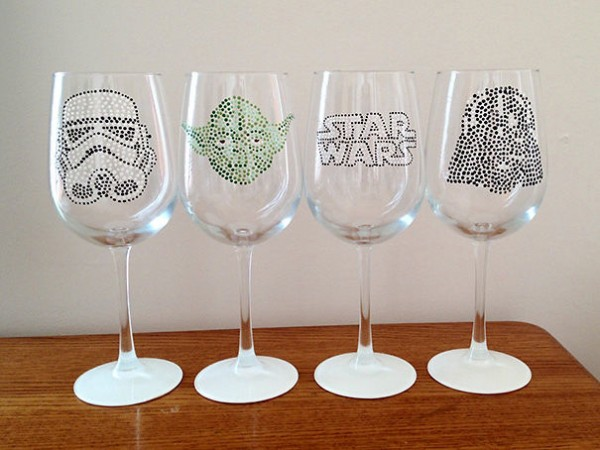 star wars white wine glasses