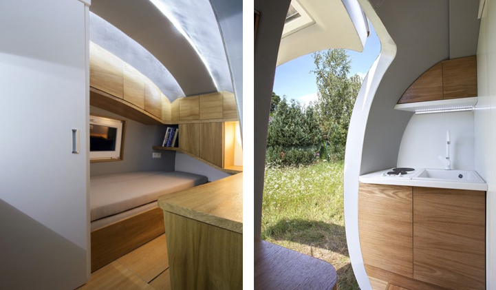 mobile pod 39 ecocapsule 39 offers a chance to live life off the grid realitypod