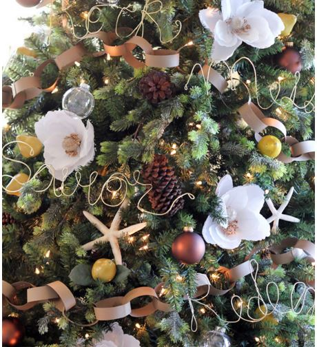 floral christmas tree 9.3