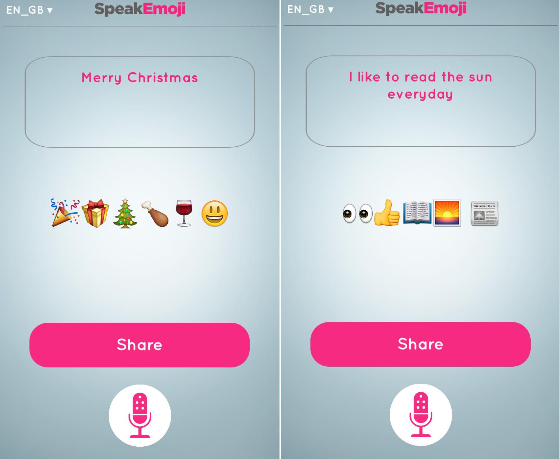 Translate speech into emoji for clear expressions when texting speak emoji 7 biocorpaavc