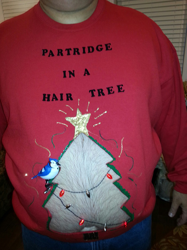 10 Christmas Sweaters That Literally Have UGLY Written All Over Them ...