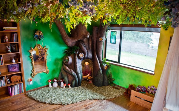 DIY fairytale treehouse 1