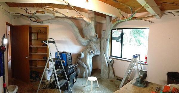DIY fairytale treehouse 5