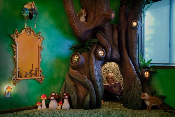 DIY fairytale treehouse 6
