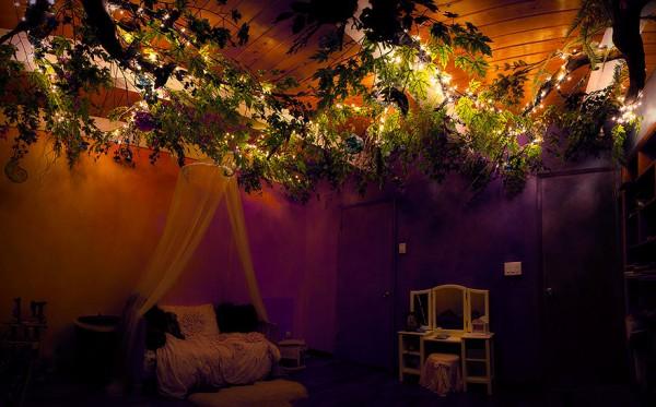 DIY fairytale treehouse 7