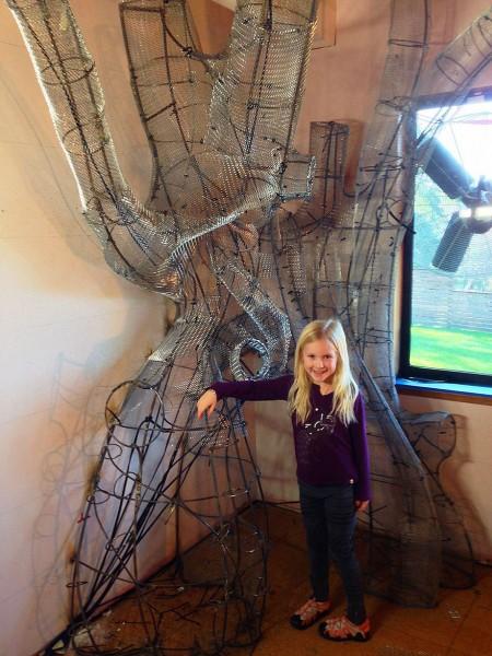 DIY fairytale treehouse 8