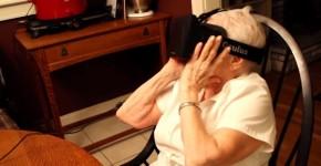 grandmother vr headset 1