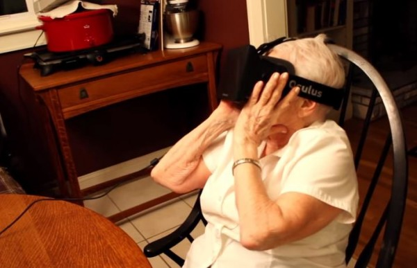 grandmother vr headset 1