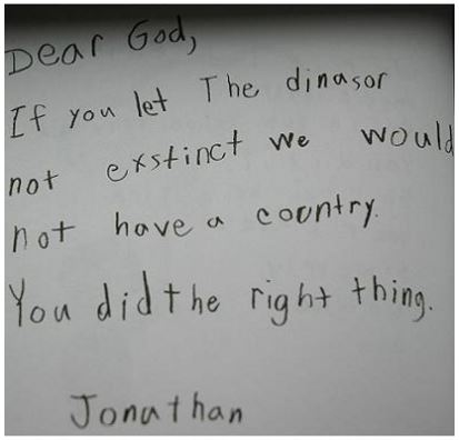 kids letters to god 2