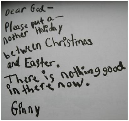 kids letters to god 3