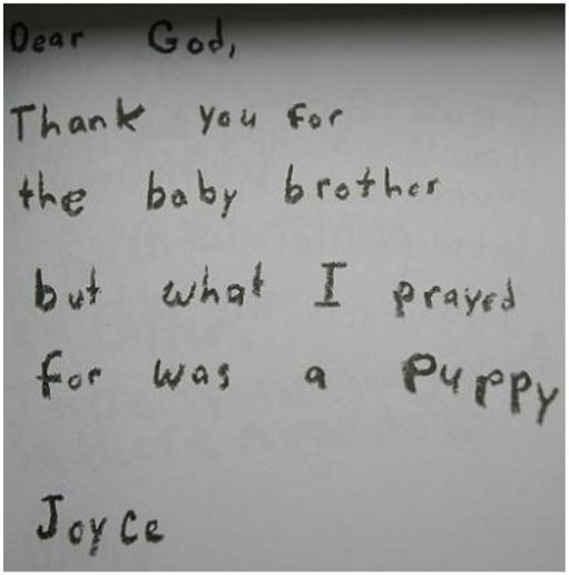 kids letters to god 6