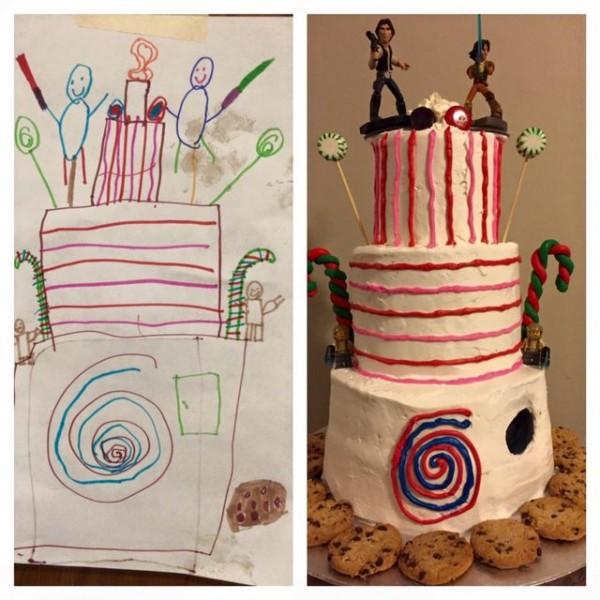 6yearold cake design
