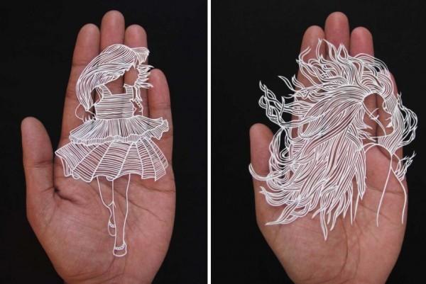 india paper cut art 2