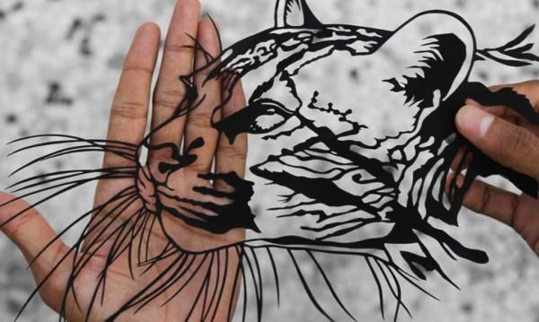 india paper cut art 5