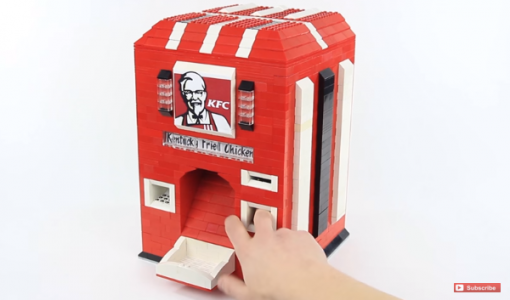 lego kfc chicken machine 2