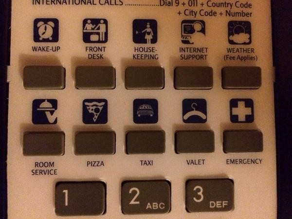 pizza phone button 3