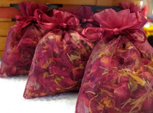 rose petals reused 3