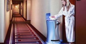 Look Out For This Robot The Next Time You Order Room Service At A Hotel