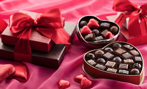 valentine's day chocolate