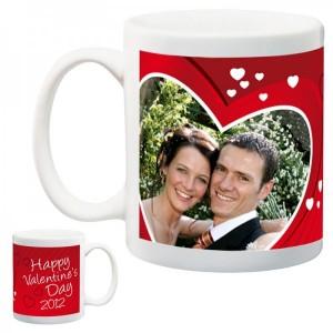 valentine's day photo mug