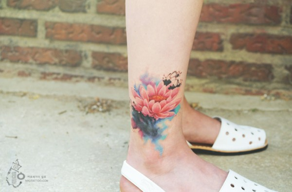 watercolour painting tattoos 4