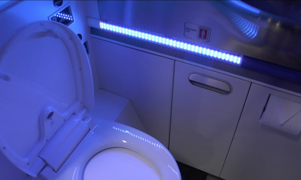 99 99 Of Bacteria In Boeing Lavatories Will Be Killed