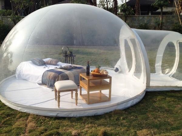 bubble tent 2