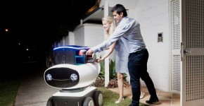 Domino's Looking To Use Autonomous Robots As Their Pizza Delivery Guys