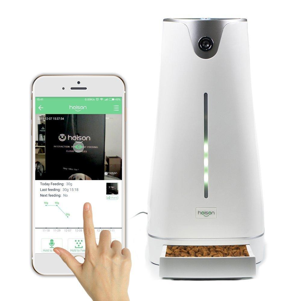 Smartphone Robot That Gets Hot Dog