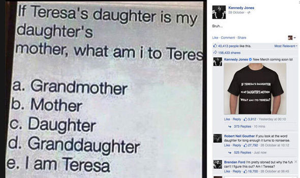 Can You Figure Out What Relationship You Have With Teresa In This