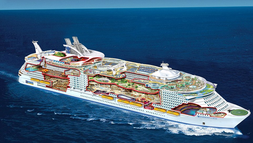 Feast Your Eyes On The Largest Cruise Ship In The World
