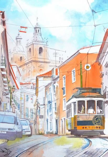 portugal watercolor 1