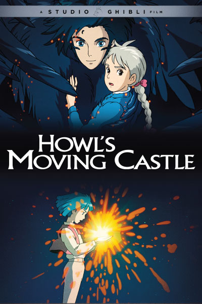 Howls Moving Castle by Studio Ghibli - Cover Art