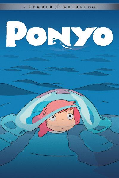 Ponyo by Studio Ghibli - Cover Art