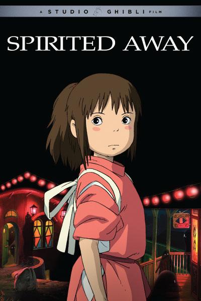 Spirited Away by Studio Ghibli - Cover Art
