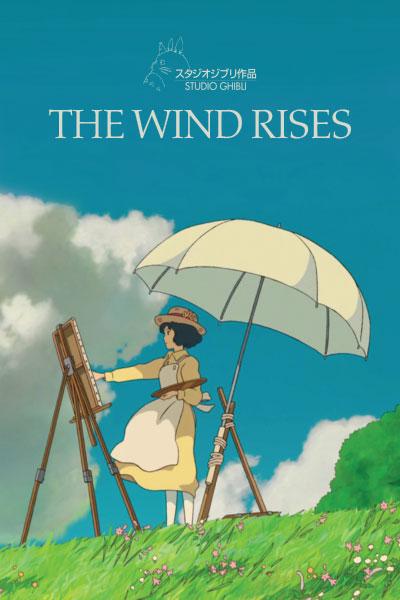 The Wind Rises by Studio Ghibli - Cover Art