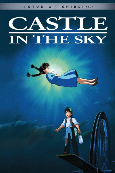 Castle in the Sky by Studio Ghibli - Cover Art