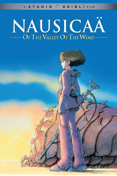 Nausicaa of the Valley of the Wind by Studio Ghibli - Cover Art