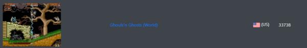 MAME - Ghouls N Ghosts