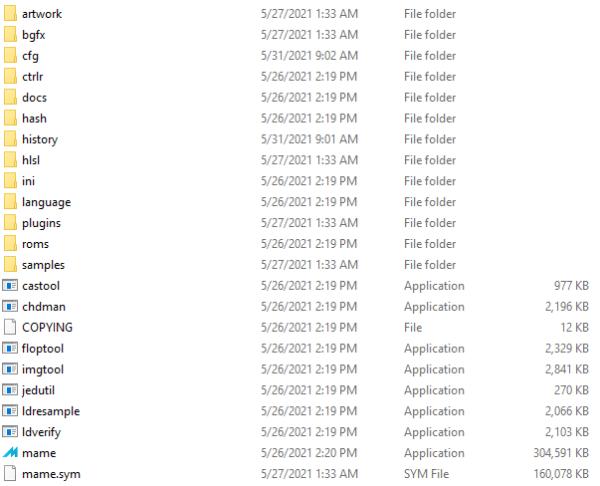 MAME folders 2