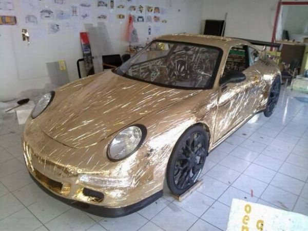 079ea757431401874d36bcae8d844272 Guy Makes Porsche Car Out of Bicycle