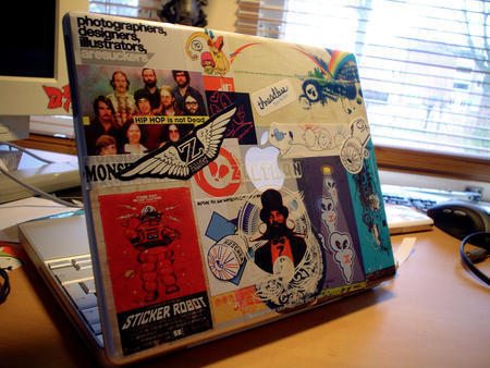 Stickers in Laptop Sleeves, Skins and Stickers